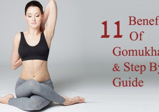 gomukhasana benifits and its step by step guide