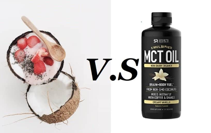 what is the difference between coconut oit and mct oil
