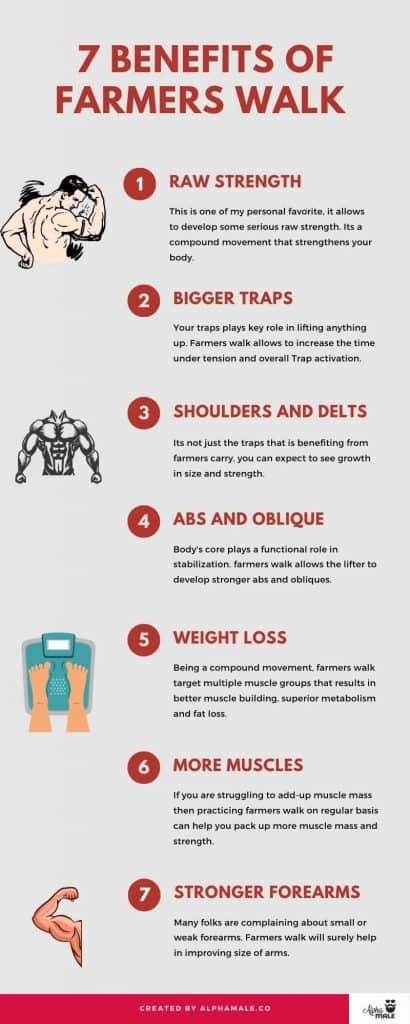 farmers walk benefits and guide