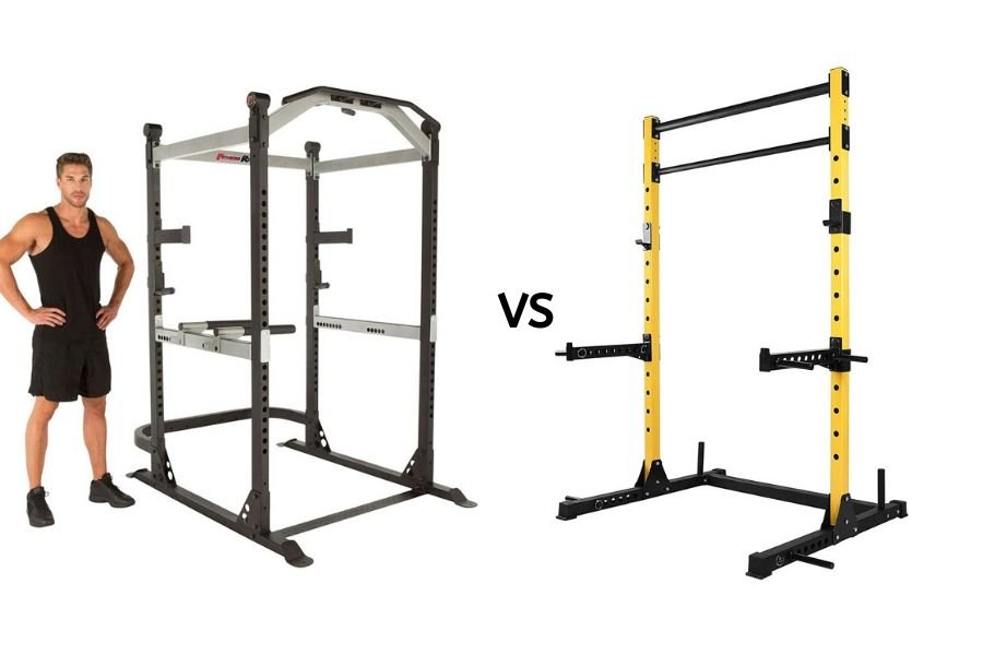 Half Rack vs Full Power Rack
