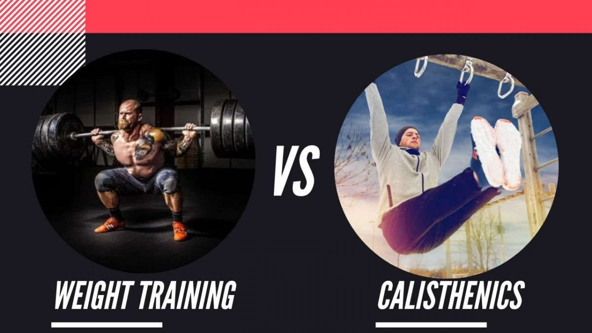 weight training vs calisthenics