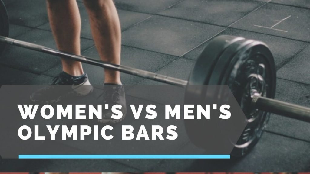 women's vs men's barbells