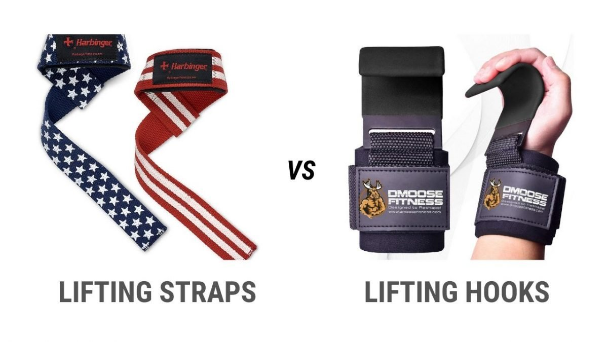 lifting hooks vs lifting straps